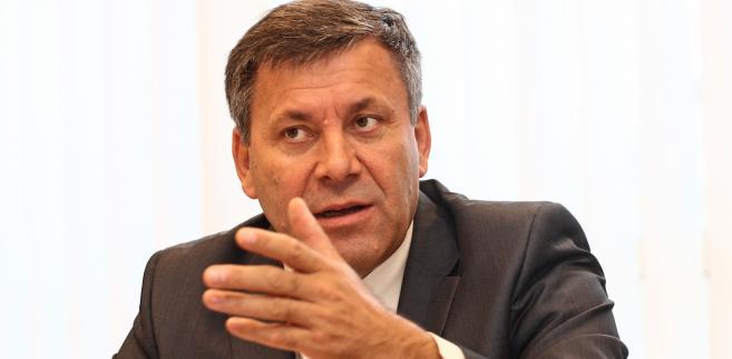 Janusz Piechociński, wicepremier i iminister gospodarki; fot. Wojciech Górski
