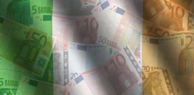 Irlandia i banknoty Euro