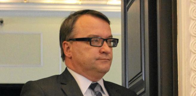 Minister sprawiedliwości Marek Biernacki