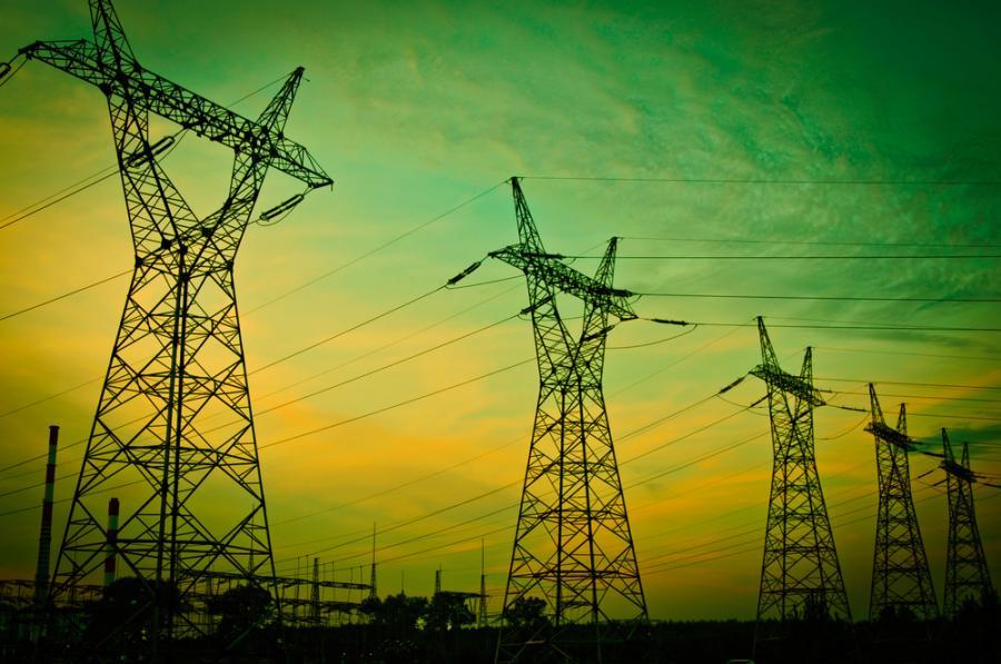 Słupy energetyczne