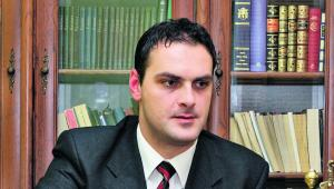 Sędzia Rafał Puchalski z Sądu Rejonowego w Jarosławiu, prezes Oddziału w Przemyślu Stowarzyszenie Sędziów Polskich IUSTITIA
