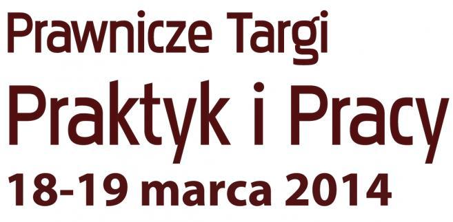 Prawnicze Targi Praktyk i Pracy 2014 - logo