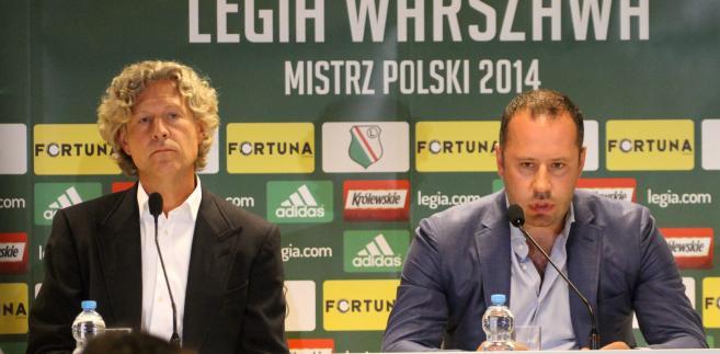 Legia Warszawa - konferencja