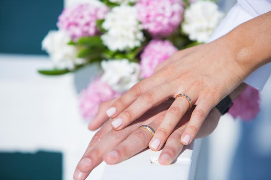 ślub obrączki