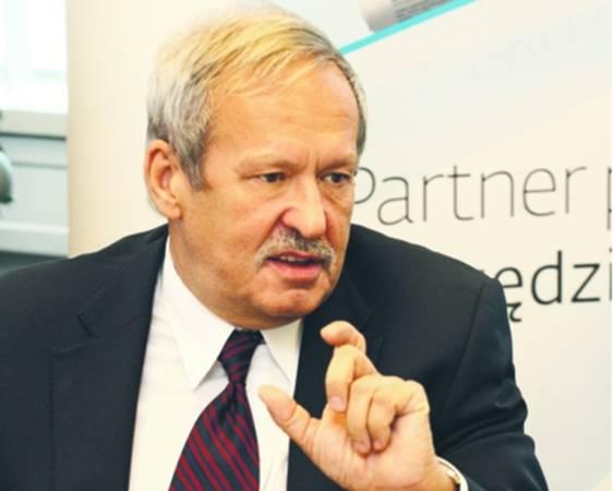 Janusz Steinhoff, wicepremier i minister gospodarki w rządzie Jerzego Buzka