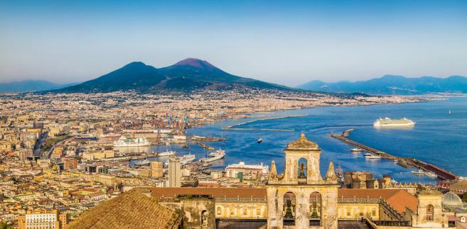 Neapol i Wezuwiusz