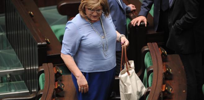 A. Grodzka w Sejmie