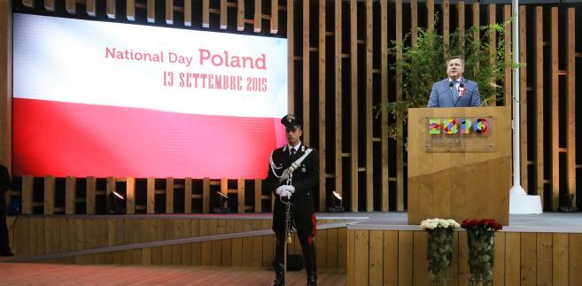 Dzień Polski na EXPO w Mediolanie