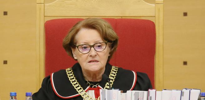 Sędzia Sławomira Wronkowska-Jaśkiewicz, TK,