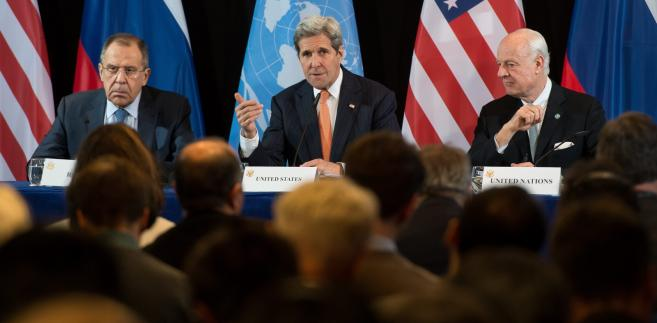 Różnice zdań co do rosyjskiego zaangażowania w Syrii, położyły się cieniem na tegorocznej konferencji
