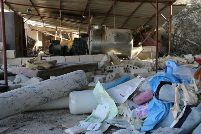 Francja: Lekarze Bez Granic twierdzą, że szpital w Syrii zbombardowali Rosjanie