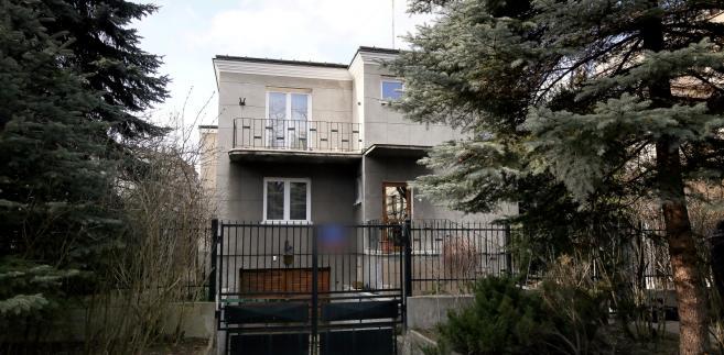 Dom gen. Kiszczaka, w którym odnaleziono dokumenty SB