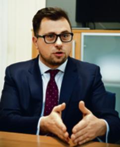 Filip Grzegorczyk, wiceminister Skarbu Państwa
