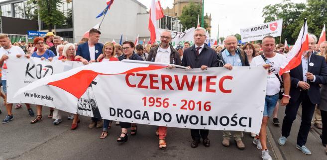KOD Poznań manifestacja