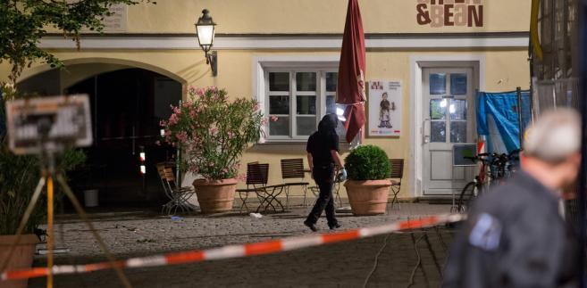 Eksplozja w restauracji w Niemczech: 12 rannych, zamachowiec zginął