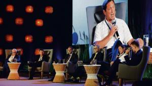 """Organizowana przez DGP debata """"Przyszłość pracy. Realia, marzenia i mrzonki"""", która odbyła się podczas Europejskiego Forum Nowych Idei"""