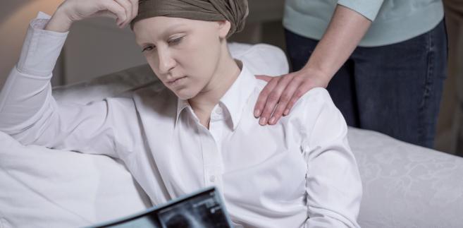chora na nowotwór