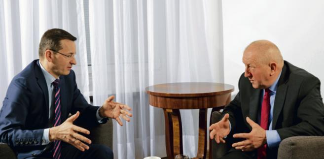 Mateusz Morawiecki wiceprezes Rady Ministrów, minister rozwoju i finansów