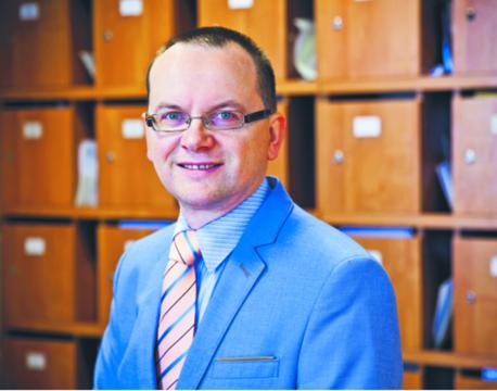 Dr hab. Jacek Zaleśny, prawnik konstytucjonalista, politolog z Uniwersytetu Warszawskiego