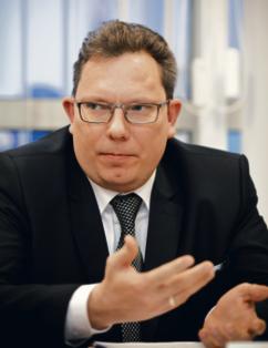 Leszek Korczak, wiceprezes Krajowej Izby Radców Prawnych