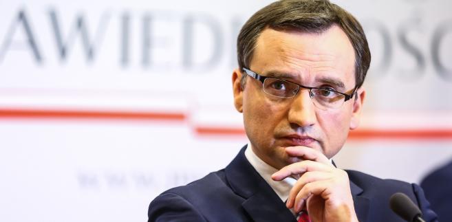 """""""Jesteśmy skoncentrowani, zdecydowani, żeby dokonać zmian w wymiarze sprawiedliwości, bo Polacy tego potrzebują."""""""