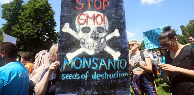 Protest przeciwko korporacji Monsanto, Chorwacja, 21 maja 2016 r.