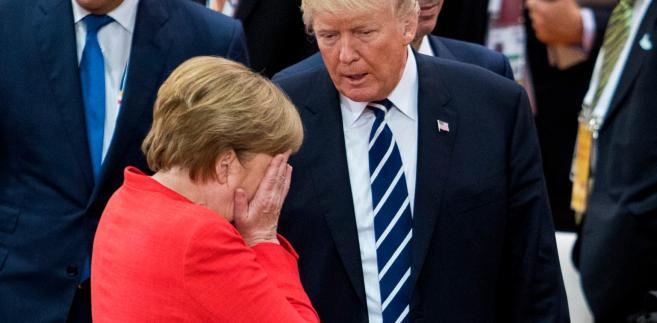 Angela Merkel przylatuje na dobę do USA