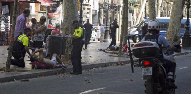 Barcelona w dniu zamachu