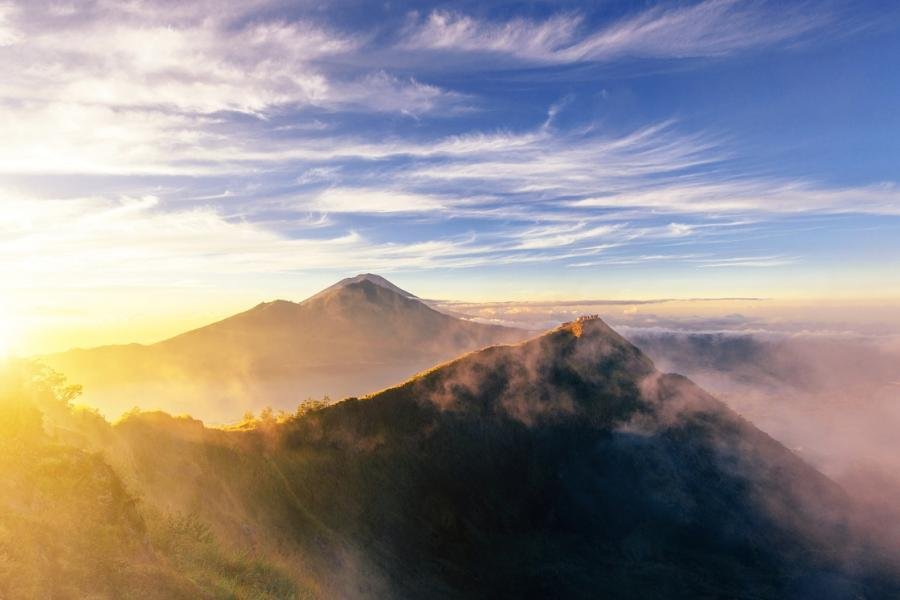fot. wulkan Batur