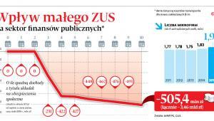Wpływ małego ZUS na sektor finansów publicznych*