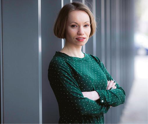 Dr Karolina Tetłak, adiunkt w Katedrze Prawa Finansowego na Wydziale Prawa i Administracji Uniwersytetu Warszawskiego