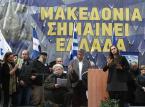 """Protest w Atenach przeciwko użyciu słowa """"Macedonia"""" w nazwie sąsiedniego państwa"""
