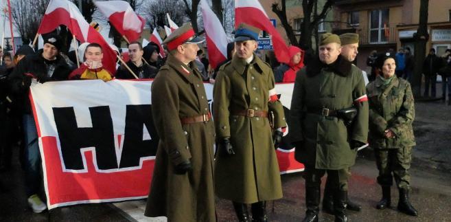 Marsz Żołnierzy Wyklętych corocznie wzbudza wiele emocji.