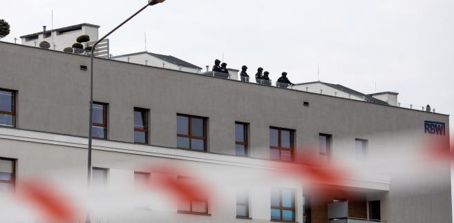 Akcja policji w Poznaniu