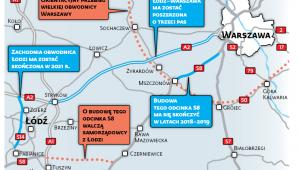 Co się zmieni na trasie Łódź-Warszawa