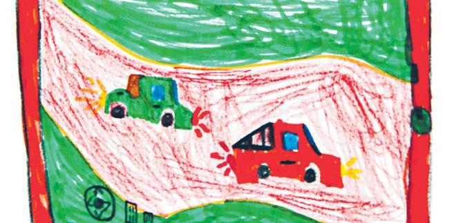 Rys. Amelia Bąk, lat 9