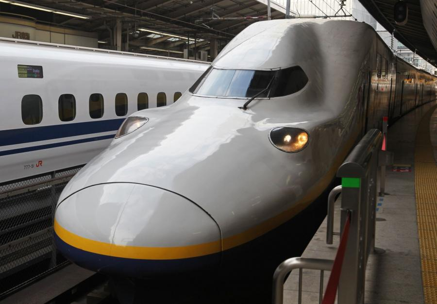 N700 Shinkansen - najszybszy pociąg Japonii