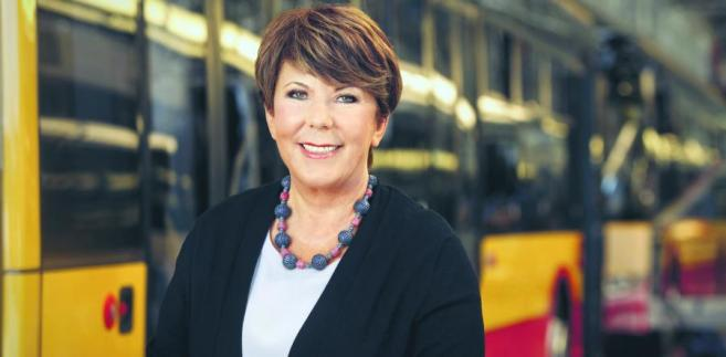 Solange Olszewska, ustępująca szefowa firmy Solaris Bus&Coach