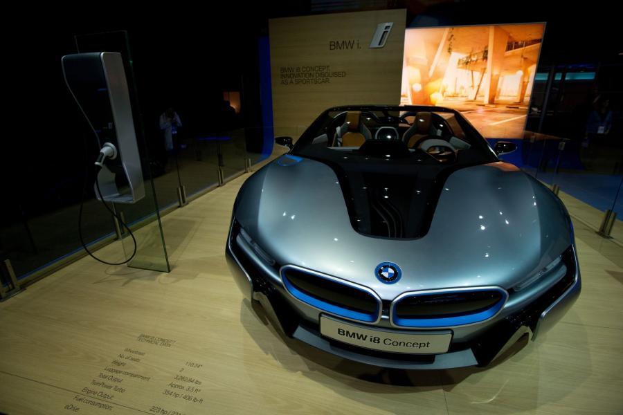 North American International Auto Show 2013: BMW i8 Concept