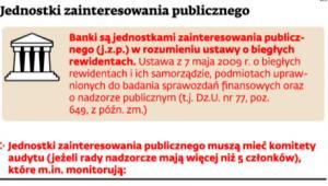 Jednostki zainteresowania publicznego