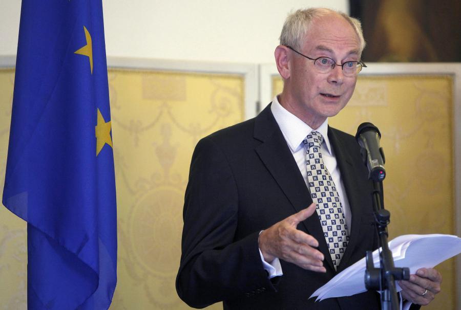 Herman van Rompuy, prezydent UE