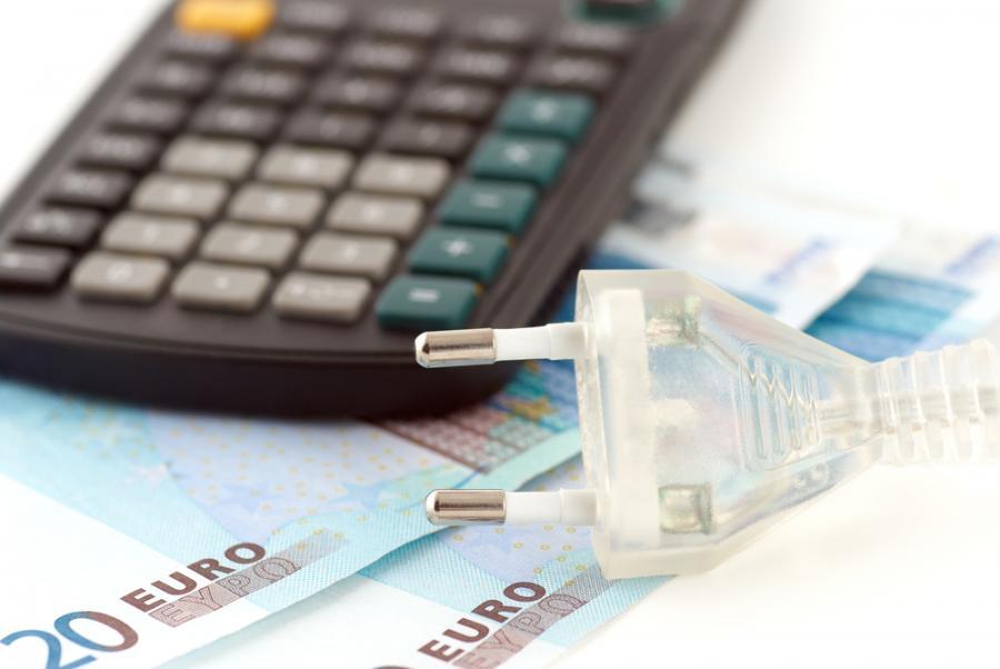 finanse, kalkulator, energia