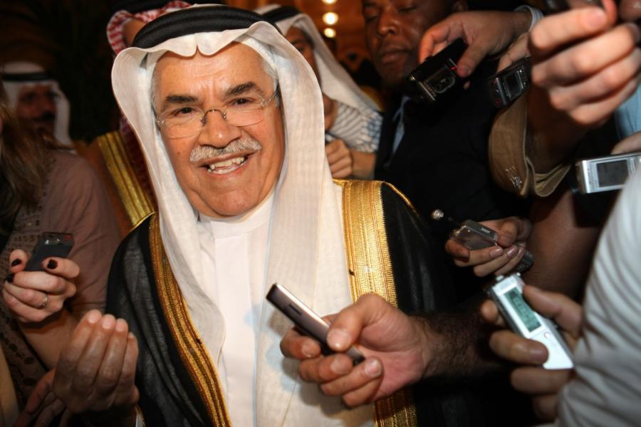 Minister zasobów naturalnych i energetyki Arabii Saudyjskiej Al-Naimi