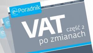 VAT część 2 po zmianach