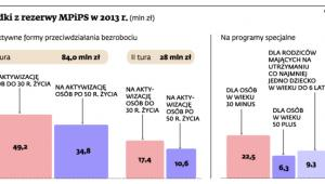 Środki z rezerwy MPiPS w 2013 r.