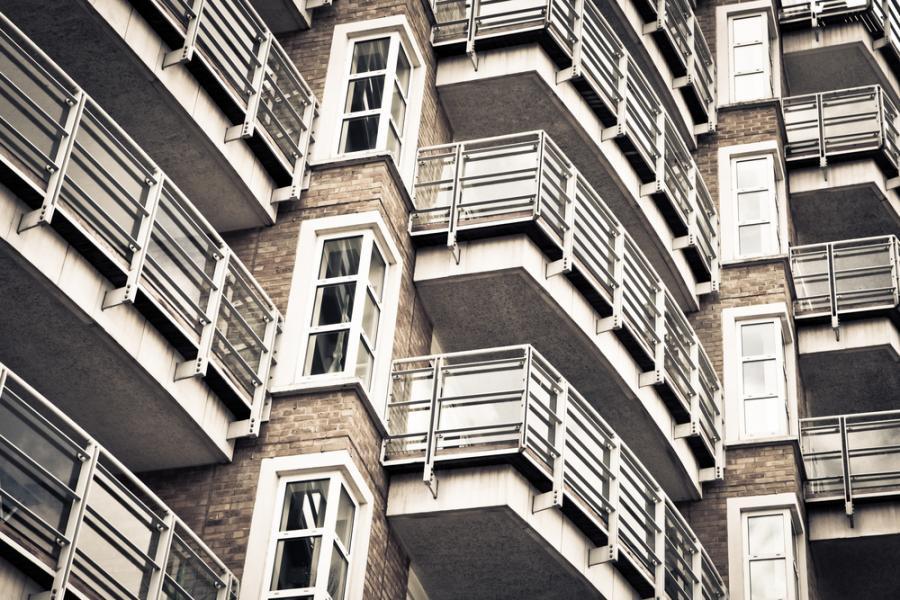 balkon, nieruchomość