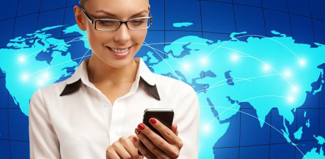 telekomunikacja-telefon-świat-kobieta