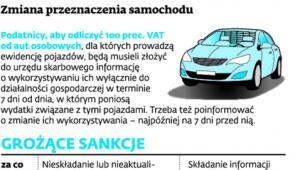Zmiana przeznaczenia samochodu