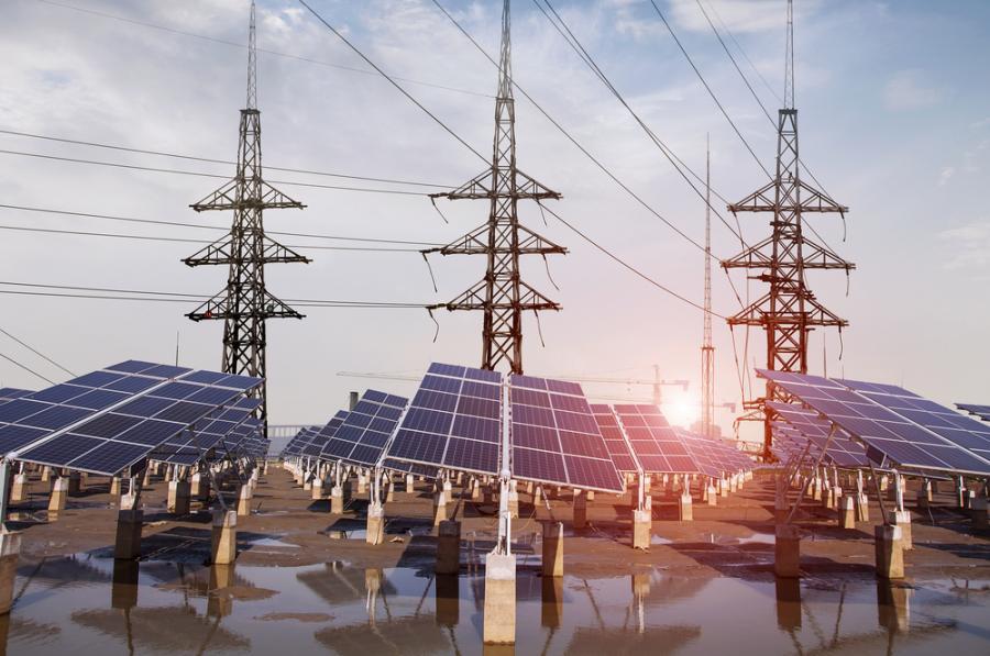 energetyka, elektrownia, fotowlotaika, panele solarne, energia słoneczna
