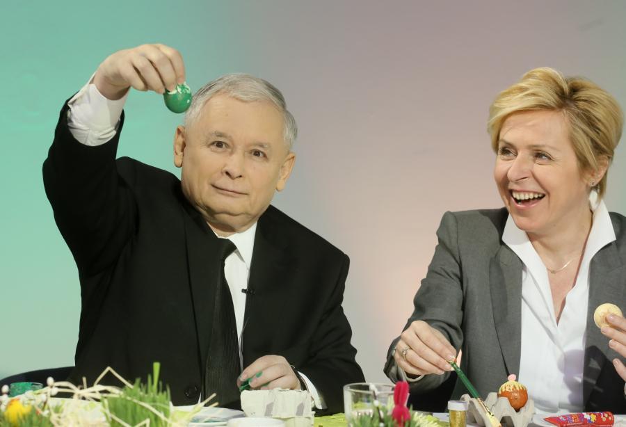 Jarosław Kaczyński. Fot. Paweł Supernak